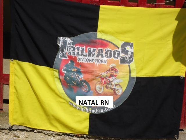 Bandeira do Trilhados MC NATAL